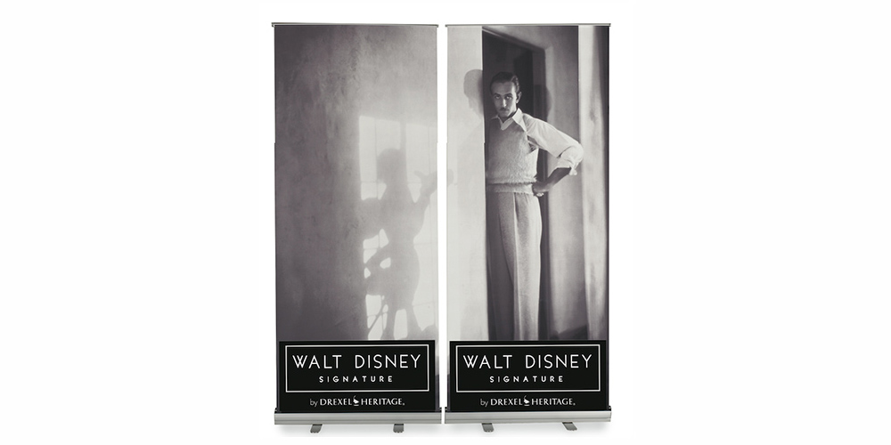 Walt Disney Collection PopUp Showroom Banners